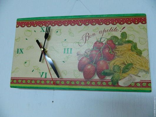 Часы для дома ручной работы. Ярмарка Мастеров - ручная работа. Купить Часы Спагетти. Handmade. Комбинированный, часы в подарок, бумага