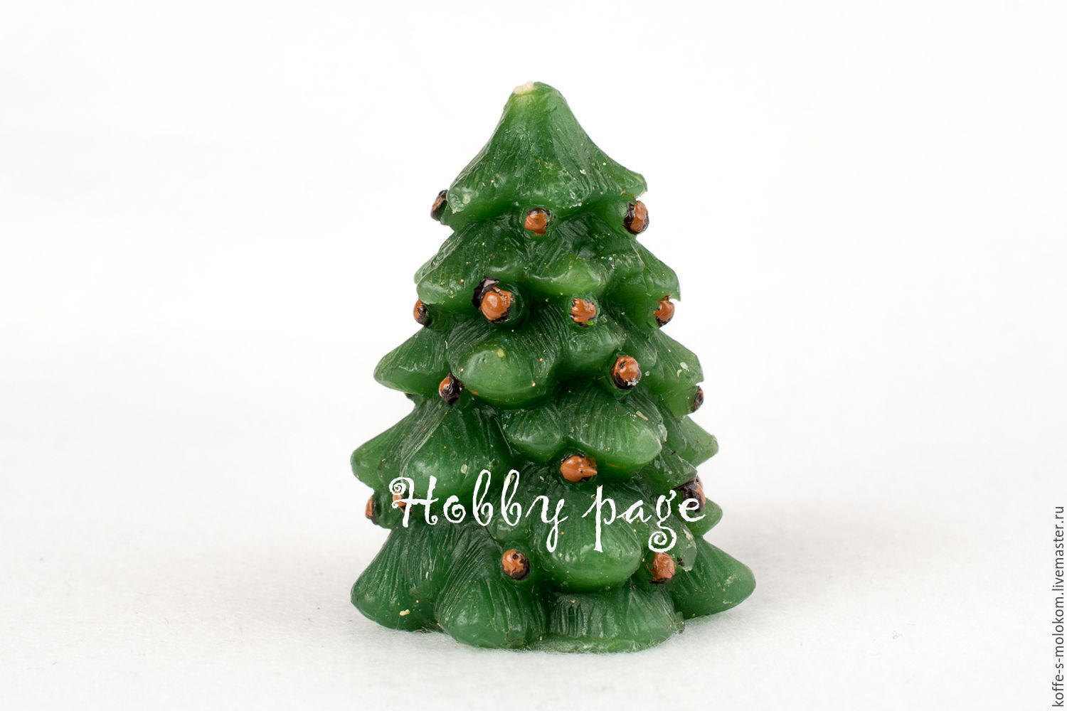 Silicone molds for soap Christmas tree with mini pine cones, Form, Moscow, Фото №1