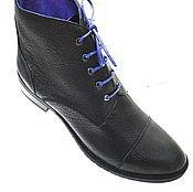 Обувь ручной работы. Ярмарка Мастеров - ручная работа Ботинки Viola. Handmade.
