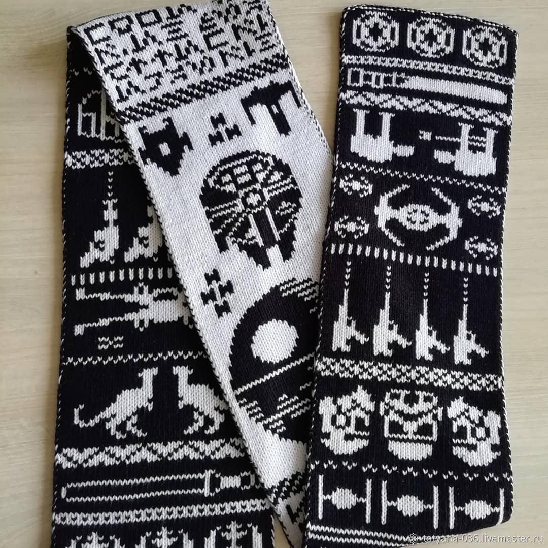 Двусторонний шарф, Шарфы, Барнаул,  Фото №1