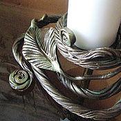Для дома и интерьера handmade. Livemaster - original item The candlestick