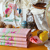 Для дома и интерьера handmade. Livemaster - original item 2 linen towels with embroidery. Towels according to your size.. Handmade.