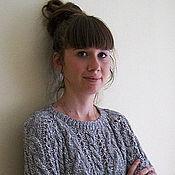 Меланжевый женский свитер с доставкой
