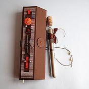 """Открытки ручной работы. Ярмарка Мастеров - ручная работа Открытка-свиток в коробочке """"Ключ"""". Handmade."""