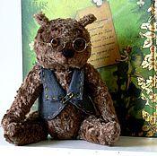 Куклы и игрушки ручной работы. Ярмарка Мастеров - ручная работа новый год плюшевый медведь Итон. Handmade.