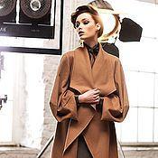 """Одежда ручной работы. Ярмарка Мастеров - ручная работа Пальто из кашемира """"Корица"""". Handmade."""