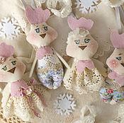 Куклы и игрушки ручной работы. Ярмарка Мастеров - ручная работа Петушки и курочки. Handmade.