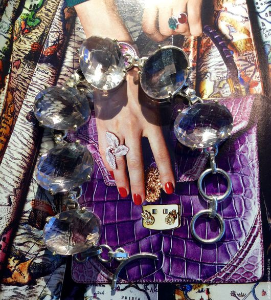Браслеты ручной работы. Ярмарка Мастеров - ручная работа. Купить Серебряный браслет с кунцитом. Handmade. Бледно-розовый, браслет с камнями