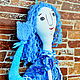 Коллекционные куклы ручной работы. Гуппяшка. Ирина(текстильная кукла). Интернет-магазин Ярмарка Мастеров. Сказочный персонаж, грунтованный текстиль
