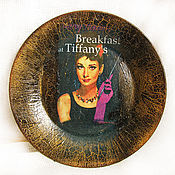 """Посуда ручной работы. Ярмарка Мастеров - ручная работа Тарелка """"Одри"""". Handmade."""