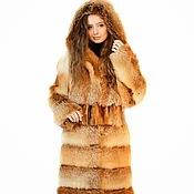 """Одежда ручной работы. Ярмарка Мастеров - ручная работа Шуба из лисы """"Зима"""". Handmade."""