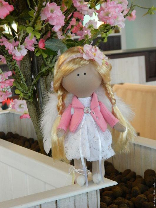 Человечки ручной работы. Ярмарка Мастеров - ручная работа. Купить Куколка Ангел. Handmade. Куклы ручной работы, кукла текстильная