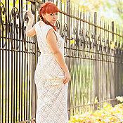 """Одежда ручной работы. Ярмарка Мастеров - ручная работа Платье """"Нежность"""" Белое. Handmade."""