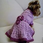 """Для домашних животных, ручной работы. Ярмарка Мастеров - ручная работа Платье """"Кокетка"""". Handmade."""
