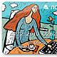 Иллюстрации ручной работы. Рисунок на заказ. Дизайн-гнездо Crowhouse. Интернет-магазин Ярмарка Мастеров. Иллюстрация, постер