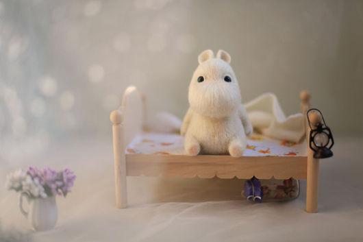 Игрушки животные, ручной работы. Ярмарка Мастеров - ручная работа. Купить Муми-тролли ( во сне и наяву). Handmade.