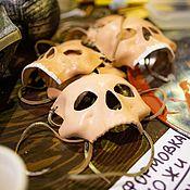 Субкультуры handmade. Livemaster - original item Skull mask. Handmade.