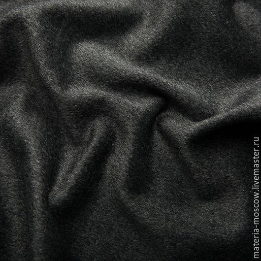 Шитье ручной работы. Ярмарка Мастеров - ручная работа. Купить Кашемир (графит). Handmade. Темно-серый, шерсть, пальто
