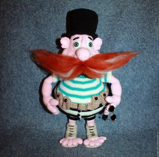 Сказочные персонажи ручной работы. Ярмарка Мастеров - ручная работа. Купить Бармалей. Handmade. Комбинированный, игрушка ручной работы