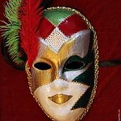 Подарки к праздникам ручной работы. Ярмарка Мастеров - ручная работа Венецианская карнавальная маска - Вольто (Larva). Handmade.