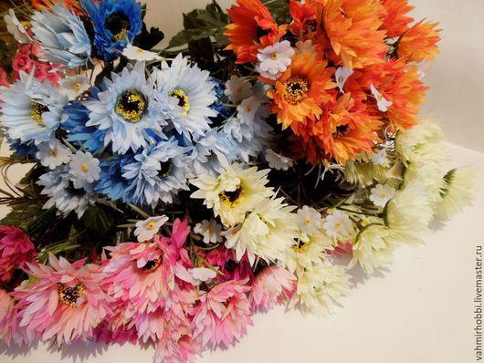 Другие виды рукоделия ручной работы. Ярмарка Мастеров - ручная работа. Купить Д /в 69 Хризантемы с мелкоцветом 10 веточек. Handmade.