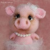 Куклы и игрушки ручной работы. Ярмарка Мастеров - ручная работа Пенелопа милая свинка (хрюшка). Handmade.