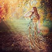 """Одежда ручной работы. Ярмарка Мастеров - ручная работа Вечернее платье """"Осень"""". Handmade."""