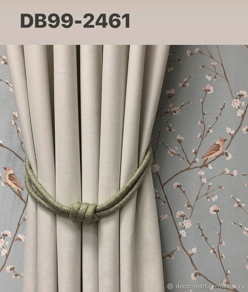 Tiebacks: The curtain hook is a Simple knot, Grips for curtains, Moscow,  Фото №1
