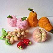 Куклы и игрушки ручной работы. Ярмарка Мастеров - ручная работа Фрукты и овощи вязаные. Handmade.