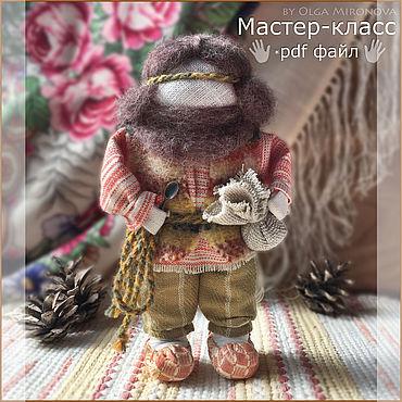 """Куклы и игрушки ручной работы. Ярмарка Мастеров - ручная работа Мастер-класс по созданию куклы """"Батюшкино Благословение"""". Handmade."""