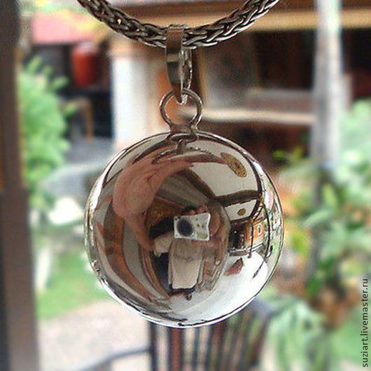 """Кулоны, подвески ручной работы. Ярмарка Мастеров - ручная работа. Купить Кулон-шарик """"МУЗЫКА ВЕТРА"""",серебро 925.. Handmade."""