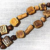 Украшения handmade. Livemaster - original item Beads in ethnic style. Ceramics. Handmade.