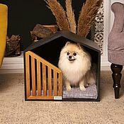 Зоотовары handmade. Livemaster - original item Little Black Future Pet House. Handmade.