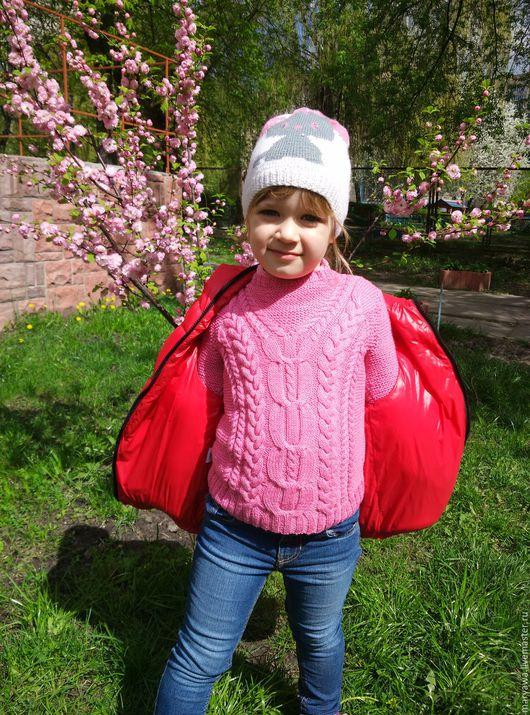 """Одежда для девочек, ручной работы. Ярмарка Мастеров - ручная работа. Купить Свитер """"Розовая мечта"""". Handmade. Розовый, свитер теплый"""
