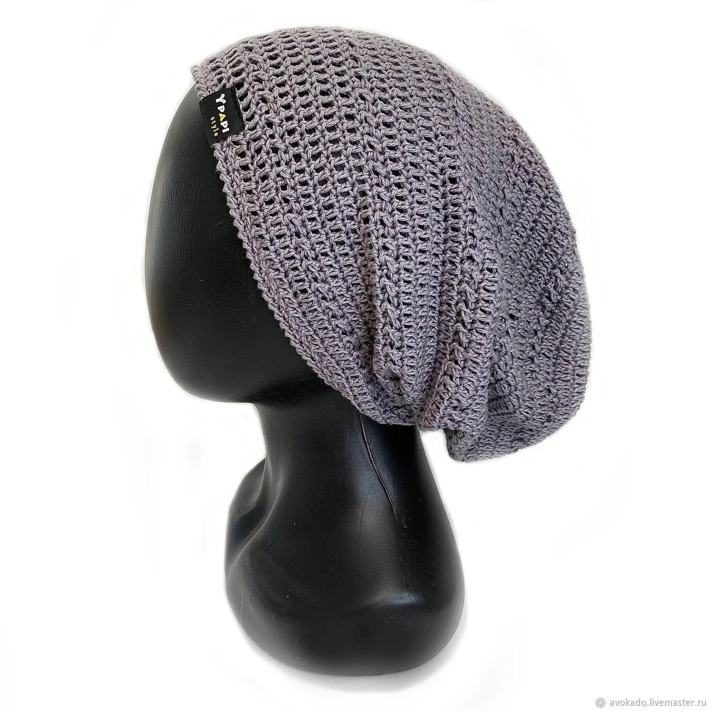 Men's unisex grey 'Maris' hat', Caps, Moscow,  Фото №1