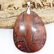 Украшения handmade. Livemaster - original item The pendant is made of siltstone Signs of the desert. Handmade.