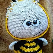 Куклы и игрушки ручной работы. Ярмарка Мастеров - ручная работа Боня в костюме пчелки. Handmade.