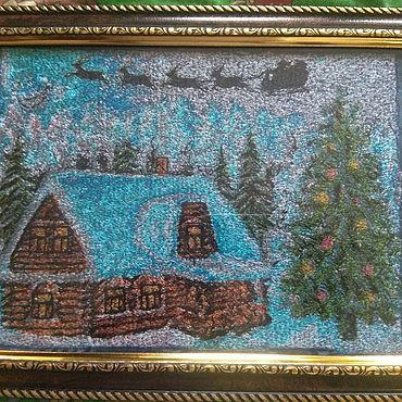 Картины и панно ручной работы. Ярмарка Мастеров - ручная работа Картины:вышитые. Handmade.