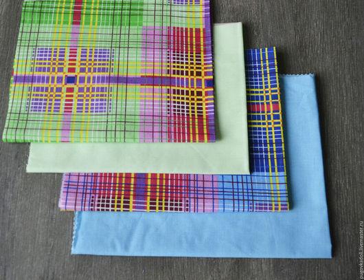 Шитье ручной работы. Ярмарка Мастеров - ручная работа. Купить Набор ткани 26. Handmade. Салатовый, набор для творчества