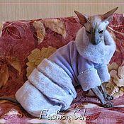 Для домашних животных, ручной работы. Ярмарка Мастеров - ручная работа Платье зимнее. Handmade.