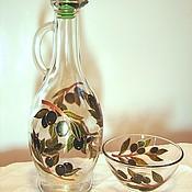 Посуда ручной работы. Ярмарка Мастеров - ручная работа Кувшинчик для оливкового масла.. Handmade.