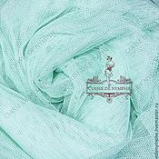 Материалы для творчества ручной работы. Ярмарка Мастеров - ручная работа Фатин стрейч, холодный мятный (cool mint) LCR-377. Handmade.