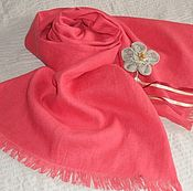 Scarves handmade. Livemaster - original item Scarf linen. Handmade.