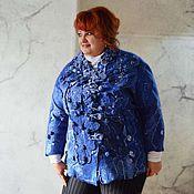 """Одежда ручной работы. Ярмарка Мастеров - ручная работа Жакет """"Серебряные озера"""". Handmade."""