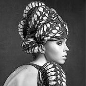 Аксессуары handmade. Livemaster - original item Turban - a turban from Olga Lace. Handmade.