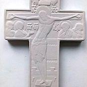 Картины и панно ручной работы. Ярмарка Мастеров - ручная работа Крест распятие малый. Handmade.