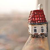 Сувениры и подарки handmade. Livemaster - original item A house in the village.. Handmade.