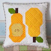 Для дома и интерьера ручной работы. Ярмарка Мастеров - ручная работа Грушевая подушка. Handmade.