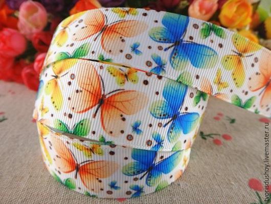 Другие виды рукоделия ручной работы. Ярмарка Мастеров - ручная работа. Купить Репсовая лента (7). Handmade. Репсовая лента