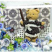 Куклы и игрушки ручной работы. Ярмарка Мастеров - ручная работа Малышка- мишка. Handmade.